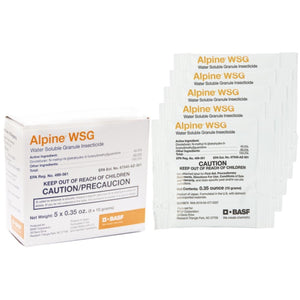 Alpine WSG Insecticide - 5 x 0.35 oz. packets - Seed World