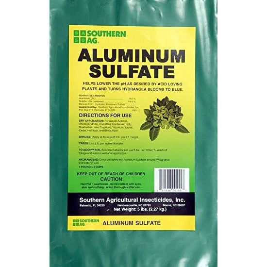 Aluminum Sulfate Fertilizer - 5 Lbs. - Seed World