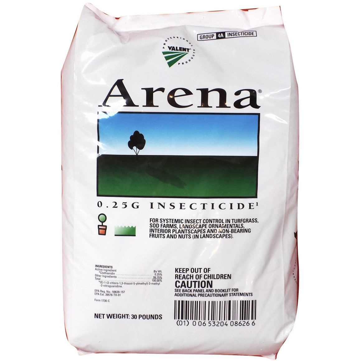Arena 0.25g Granular Insecticide - 30 Lbs. - Seed World