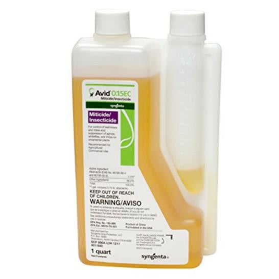 Avid 0.15 EC Miticide Insecticide - 1 Qt. - Seed World