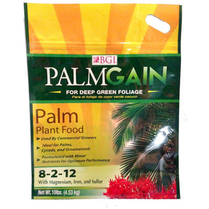 Palmgain 8-2-12 - Palm Plant Food Fertilizer - 10 lbs. - Seed World