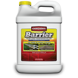 Gordon's Barrier Year-Long Vegetation Killer - 2.5 Gallon