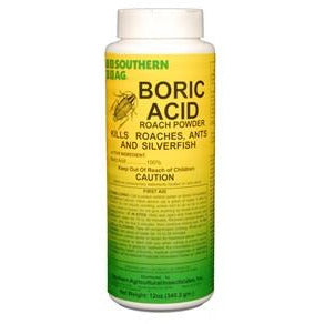 Boric Acid Powder (Borid)- 12 oz.