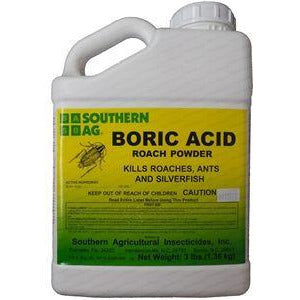 Boric Acid - 3 lb. - Seed World
