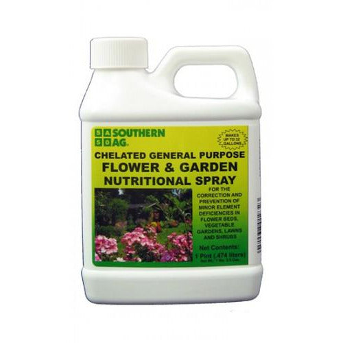 Chelated Flower and Garden Nutritional Spray - 1 Pint