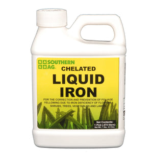 Chelated Liquid Iron Fertilizer - 1 Pint