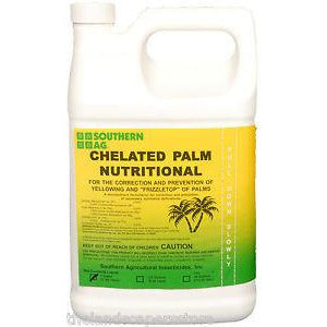 Palm Nutritional Spray Chelated Liquid Fertilizer - 1 Gallon