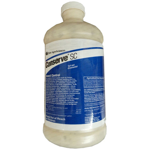Conserve SC Turf and Ornamental Insecticide - 1 Quart