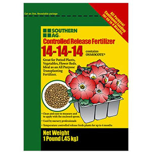 Southern Ag Controlled Release 14-14-14 Fertilizer - 1 Lb.