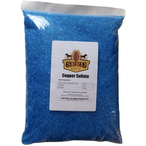 SeedRanch Copper Sulfate Pentahydrate 99.9% Crystals - 10 Lbs.