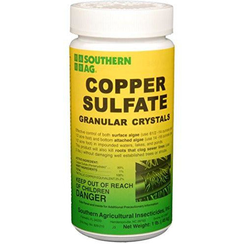 Copper Sulfate Granular Crystals - 1 Lb. - Seed World