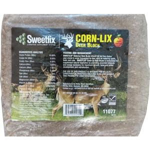 SWEETLIX Corn-Lix Deer Block (Apple Flavored)