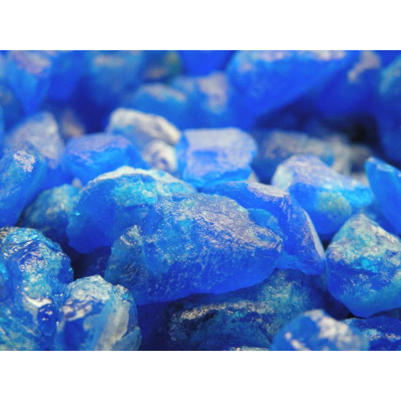Large Copper Sulfate Crystals - 50 Lbs.