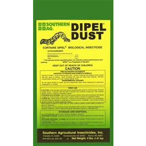 Dipel Dust Insecticide - 4 Lbs.