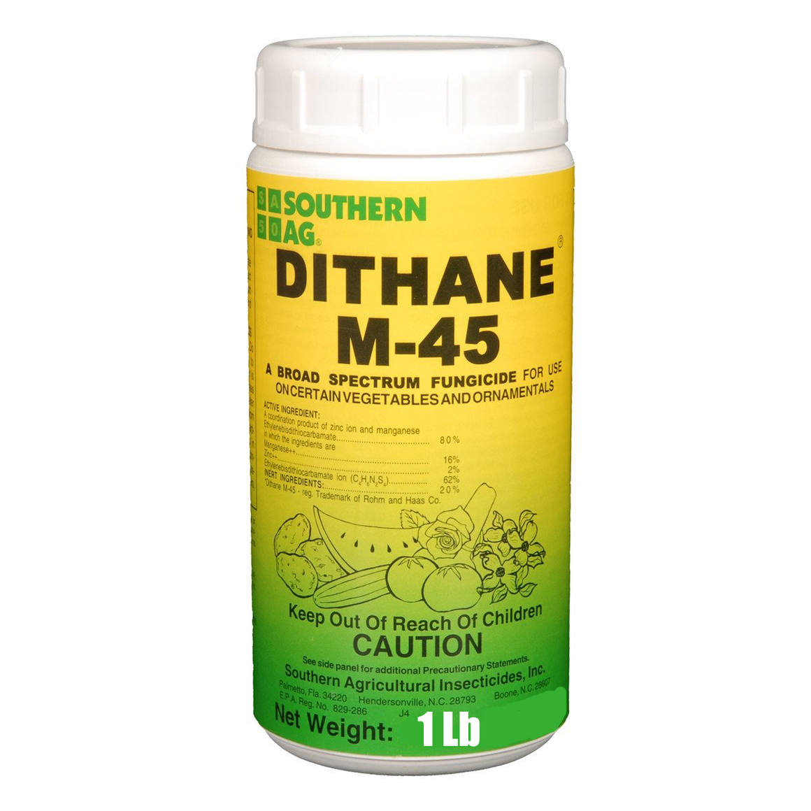 Dithane M-45 Fungicide - 1 Lb.