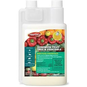 Dominion fruit tree vegetable insecticide