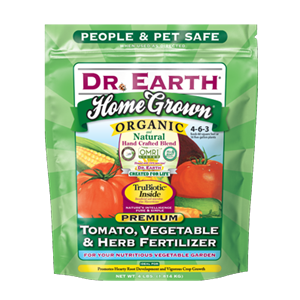 Dr Earth Home Grown Organic Premium Tomato, Vegetable, & Herb Fertilizer - 4 lbs - Seed World