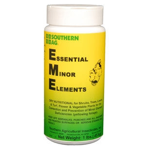 Essential Minor Elements Fertilizer - 1 Lb.