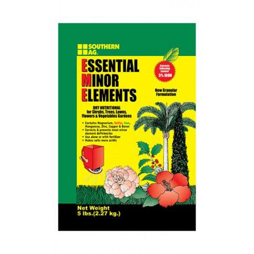 Essential Minor Elements Fertilizer - 5 Lbs. - Seed World