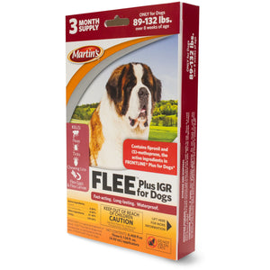 Flee Plus IGR for Dogs 89 - 132 Lbs.