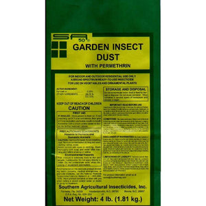 Garden Insect Dust Permethrin Insecticide - 25 Lbs.