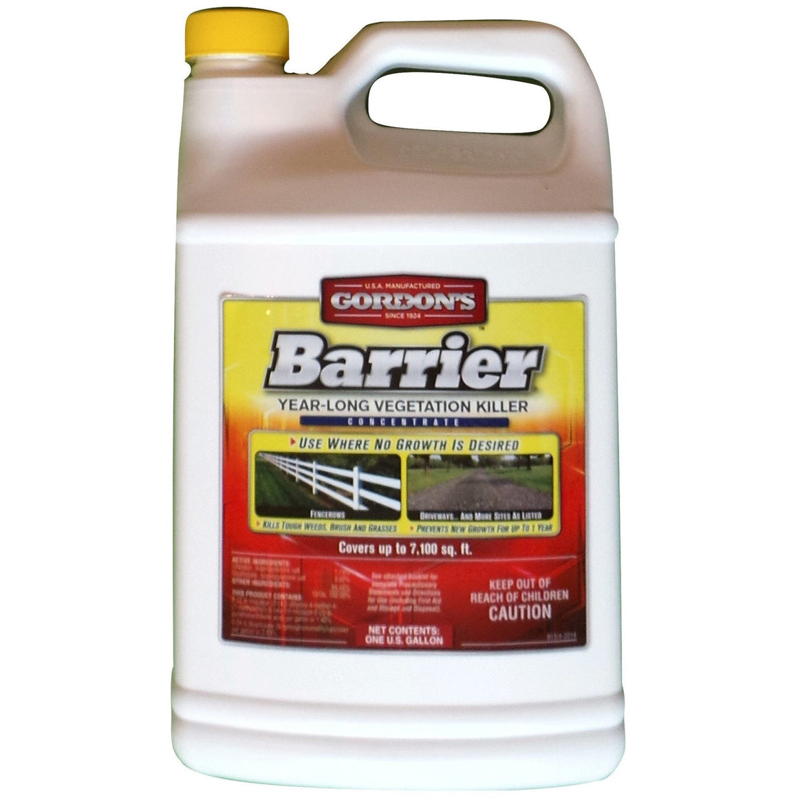 Gordon's Barrier Year-Long Vegetation Killer - 1 Gallon