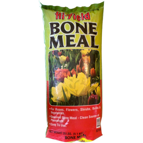 Hi-Yield Bone Meal 0-10-0 Fertilizer - 20 Lbs.