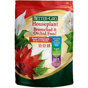 Better-Gro Houseplant Bromeliad & Orchid Food 11-11-18 Fertilizer - 1 lb.