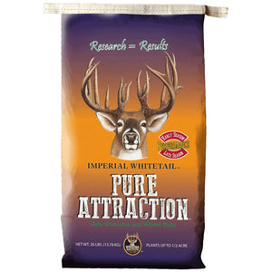 Imperial Whitetail Pure Attraction - 26 Lbs. - Seed World