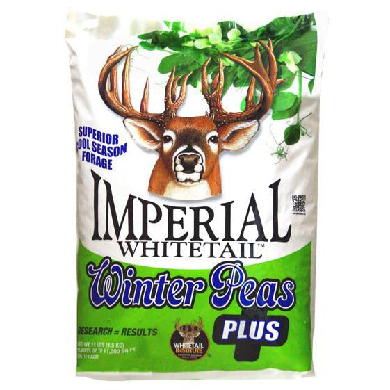 Imperial Whitetail Winter Peas Plus Seed - 11 lbs.