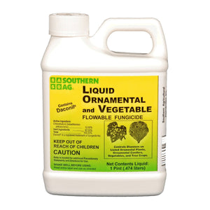 Liquid Ornamental & Vegetable Fungicide (Contains Daconil) - 1 Pint