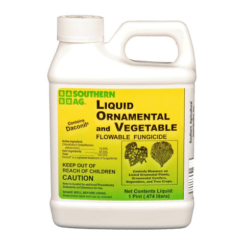 Liquid Ornamental & Vegetable Fungicide (Contains Daconil) - 1 Pt.