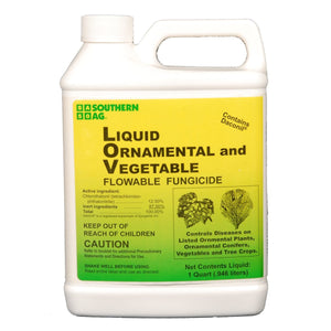 Liquid Ornamental & Vegetable Fungicide (Contains Daconil) - 1 Qt.