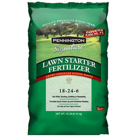 Lawn Starter Fertilizer 18-24-6 - 18 Lbs