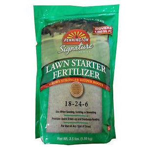 Lawn Starter Fertilizer 18-24-6 - 3.5 Lbs