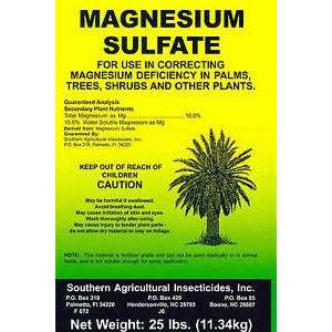 Magnesium Sulfate Fertilizer - 25 Lbs. - Seed World