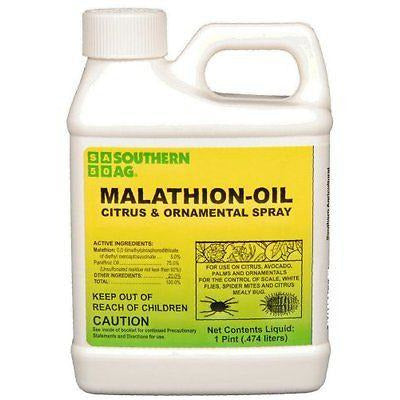 Malathion Oil Citrus & Ornamental Spray - 1 Pint