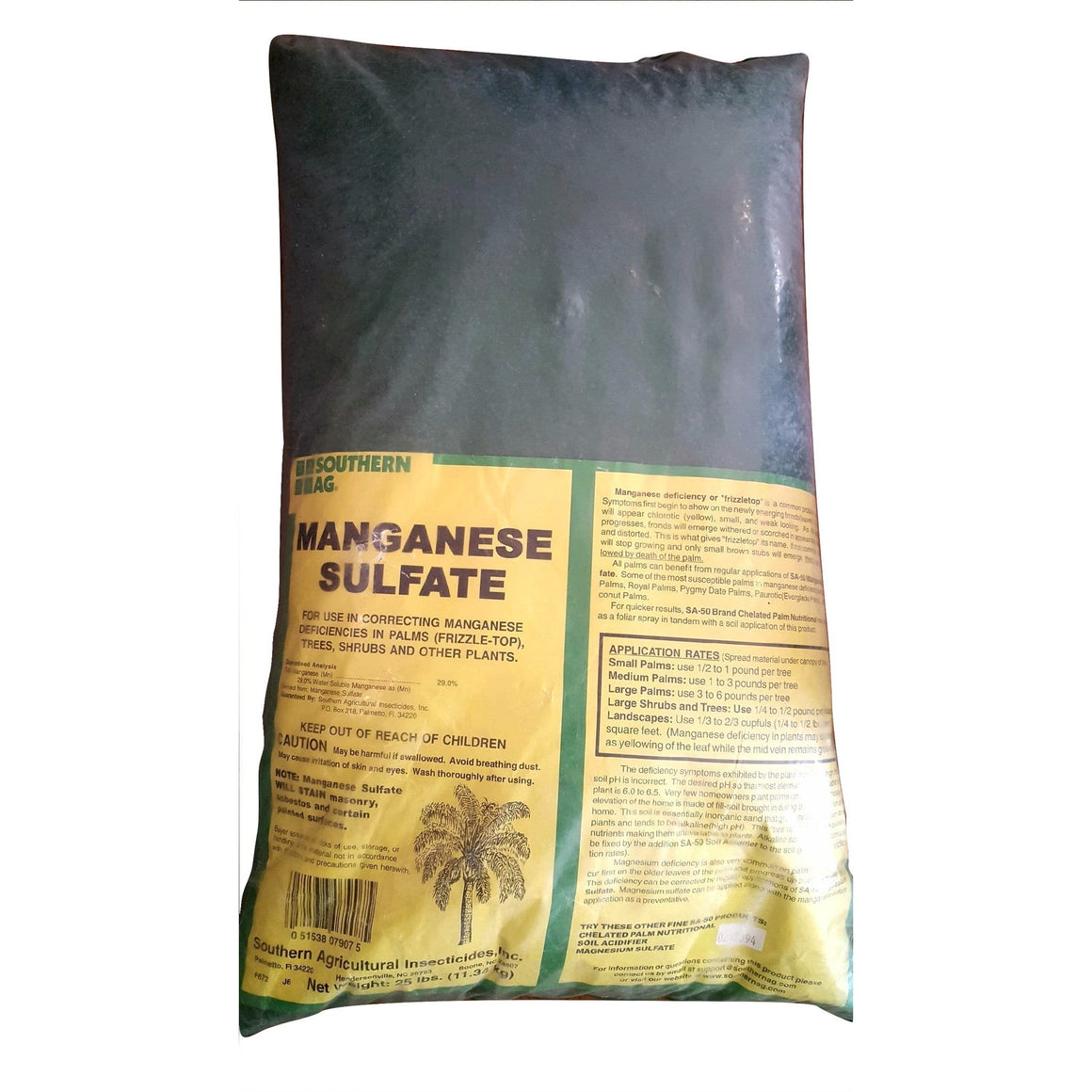 Manganese Sulfate Fertilizer - 25 Lbs. - Seed World