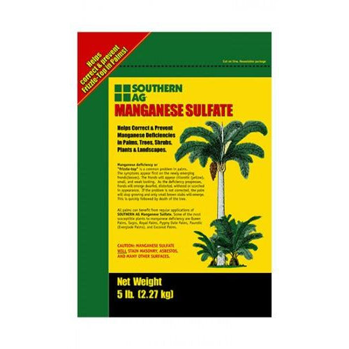 Manganese Sulfate Fertilizer - 5 Lbs. - Seed World