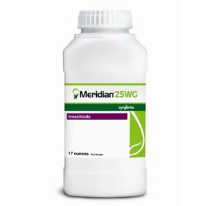 Meridian 25WG Insecticide Granules - 17 Oz.