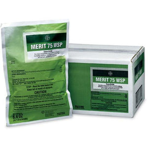 Merit 75 WSP Insecticide - 4 x 1.6 Oz. Packets