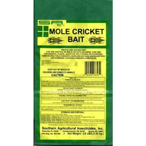 Mole Cricket Bait - 3.6 Lbs.