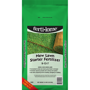 Ferti-Lome 9-13-7 New Lawn Starter Fertilizer - 10 lbs