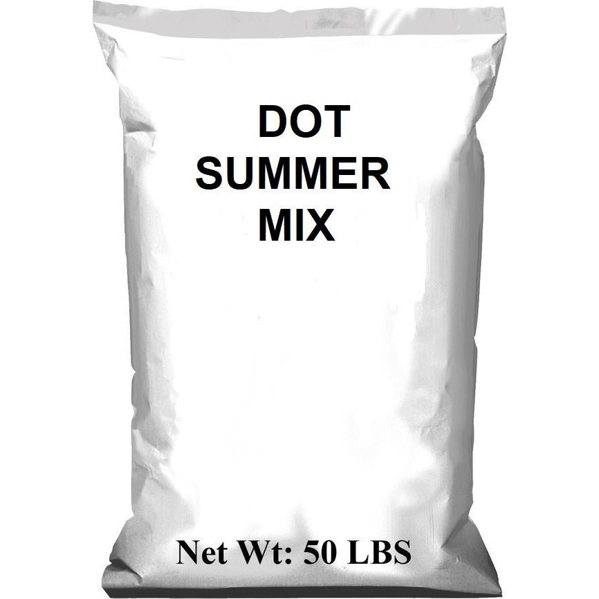 DOT Summer Pensacola Bahia / Brown Top Millet Mix - 50 Lbs. - Seed World