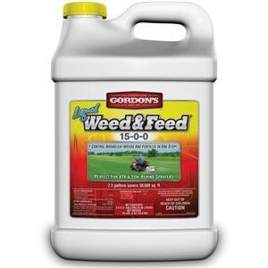 PBI Gordon Liquid Weed And Feed 15-0-0 - 2.5 Gal.