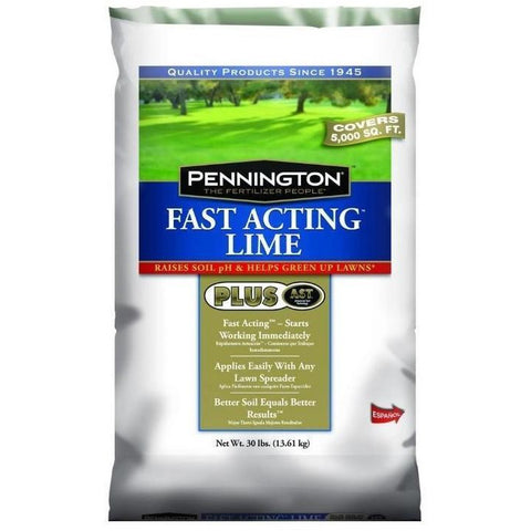 Pennington Fast Acting Lime - 30 Lbs.