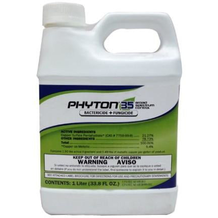 Phyton 35 Bactericide/Fungicide - 1 Liter