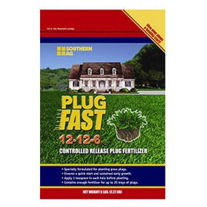 Plug Fast 12-12-6 Controlled Released Fertilizer - 5 Lbs.