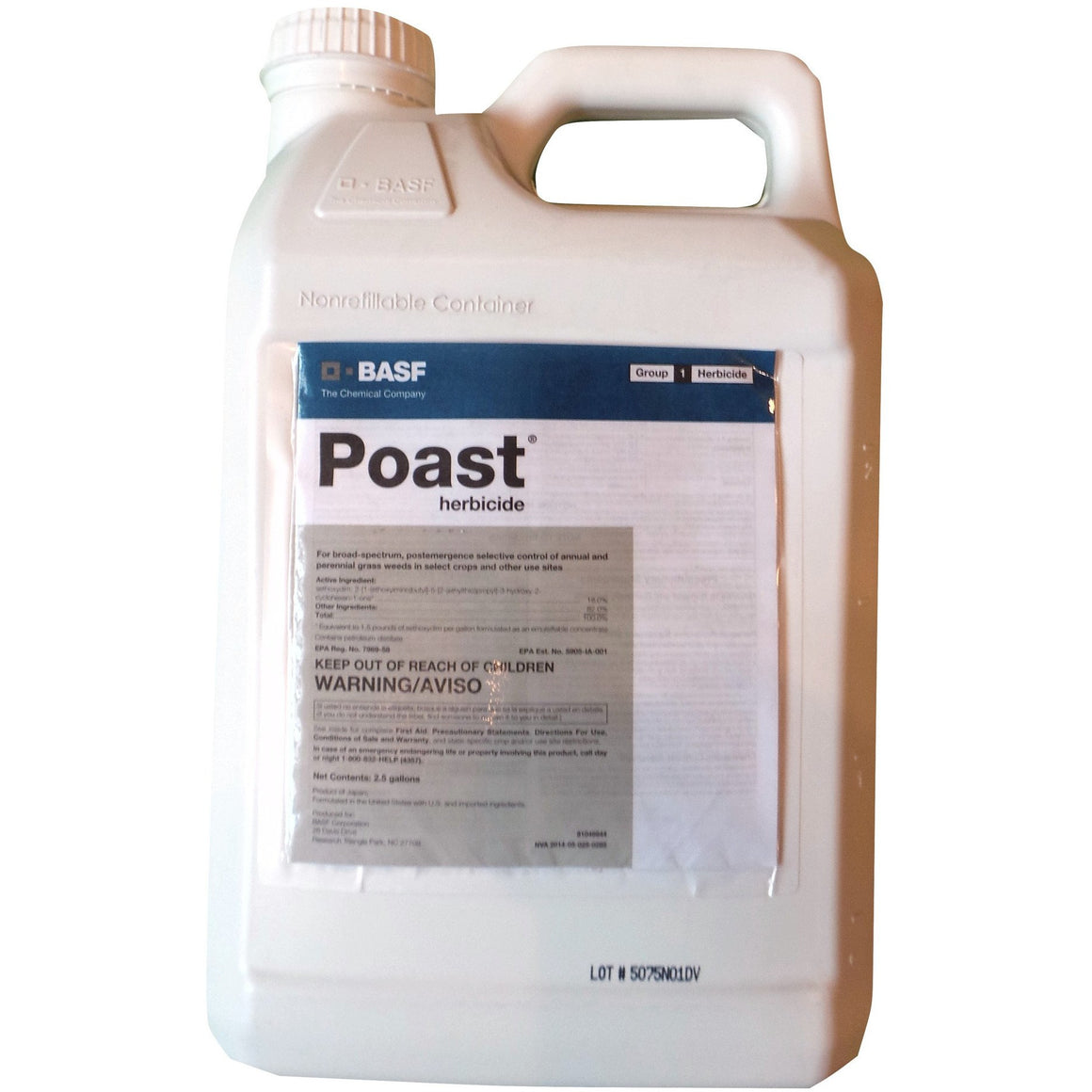 Poast Herbicide - 2.5 Gallons - Seed World