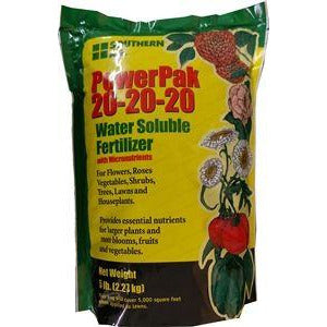 PowerPak 20-20-20 Soluble Fertilizer - 5 Lbs.